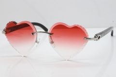 Silver Red Lens